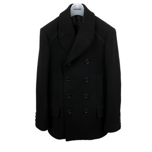[30% Off] Suede Trimming <br> Pea Coat