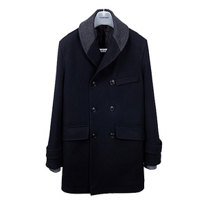 [30% Off] Shawl Collar Coat <br> Navy