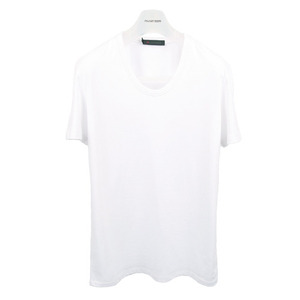 U neck T-Shirt [White]