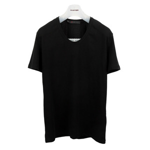 U neck T-Shirt [Black]