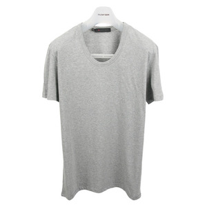 U neck T-Shirt [Gray]