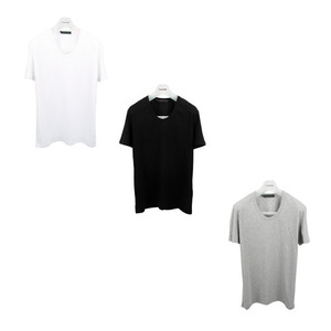 U neck T - Shirts 3Pack