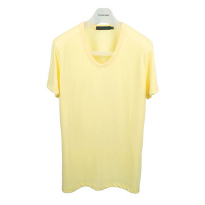 U neck T-Shirt [Lemon]