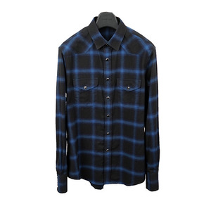 SLP Blue Check Shirt -�԰�Ϸ�-