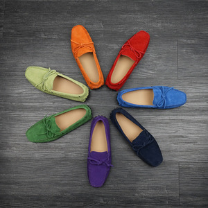 [45% OFF] Suede Driving Shoes