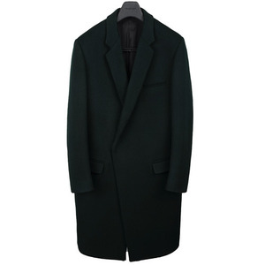Crombie Coat - Deep Green