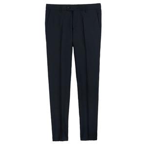 Wool Pants - Blueblack