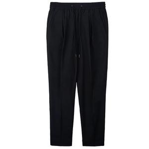 Banding Wool Pants - Black