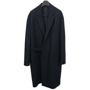 Belted Oversize Coat - Navy